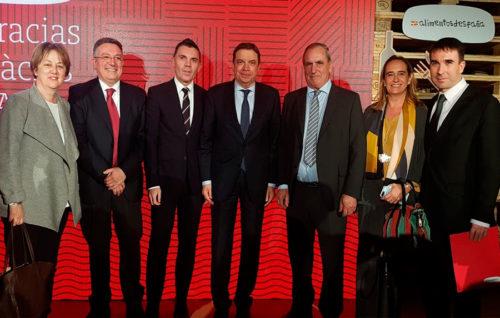 La merluza de pincho de Celeiro recoge el premio Alimentos de España