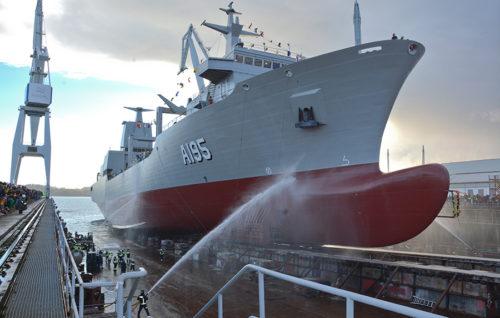 Navantia construirá cinco nuevas fragatas para la Armada Española