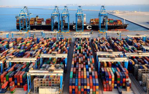 Un nuevo máximo histórico de tráfico portuario con 563,4 millones de toneladas