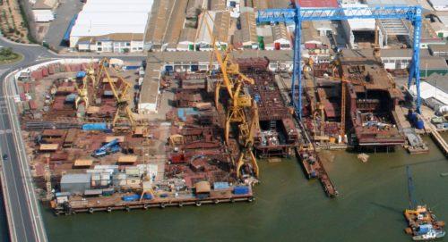 La construcción naval seguirá disminuyendo su capacidad al igual que la cartera de pedidos en 2018