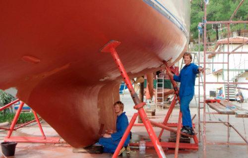 Casi un millar de trabajos de reparación y mantenimiento en los astilleros españoles en 2018