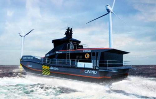 Primer contrato del mundo para la construcción de un buque SES de propulsión híbrida