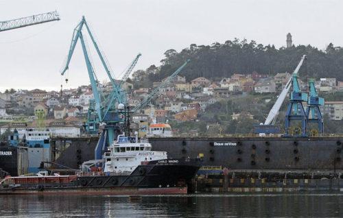 Metalships compra un dique flotante en el que podrá atender a barcos de 180 metros