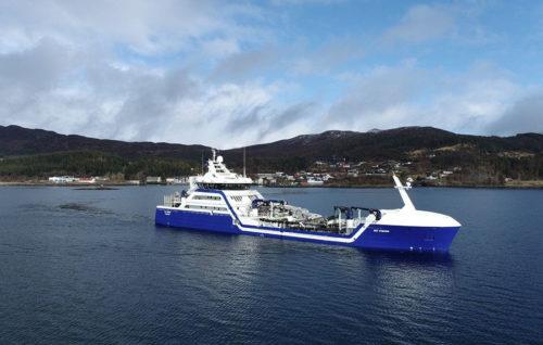 """Premio del """"Buque del Año"""" noruego a un barco de transporte de peces vivos"""