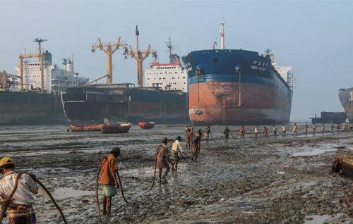 Las instalaciones autorizadas por la UE  para el reciclaje de buques siguen siendo insuficientes