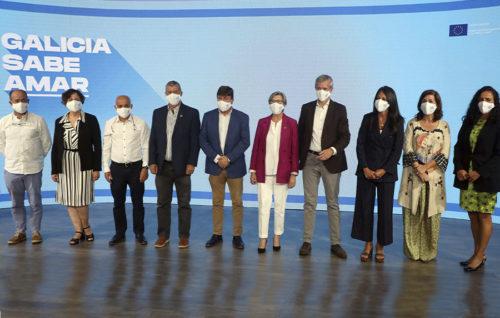 La Xunta lanzó la campaña 'Galicia sabe amar'